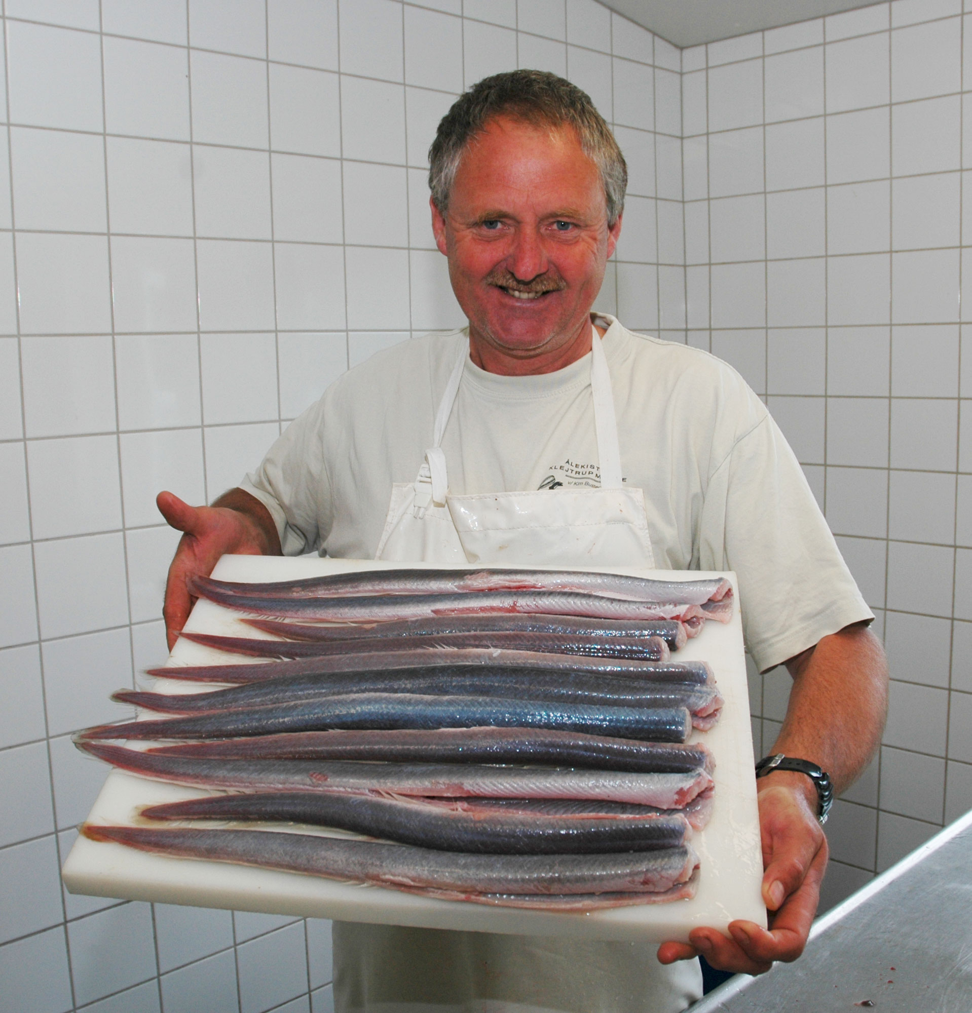 ferske ål stegeål
